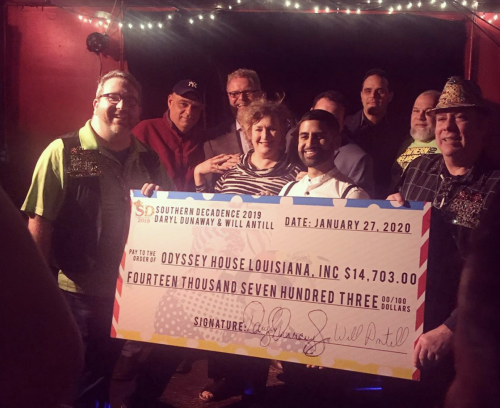 Southern Decadence Donation - Southern Decadence Check